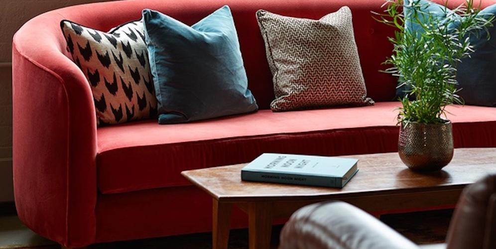 custom-made sofa for retail store